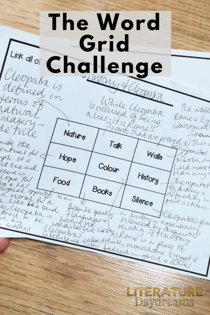The word grid challenge
